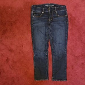 American Eagle Artist Crop Jeans Size 6